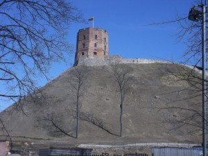 Gediminas' Tower - Click to enlarge.