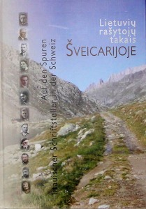 Cover of the book about Lithuanian authors in Switzerland